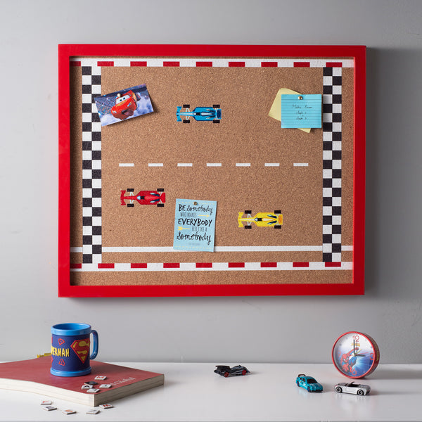 Racing Car Pinboard