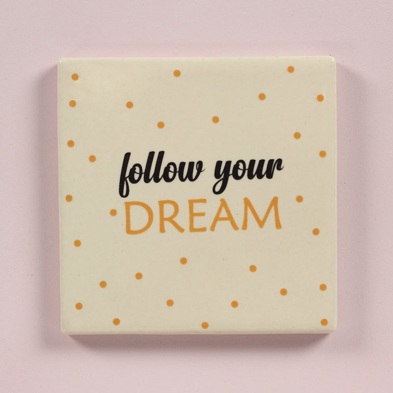 Follow your dream coaster