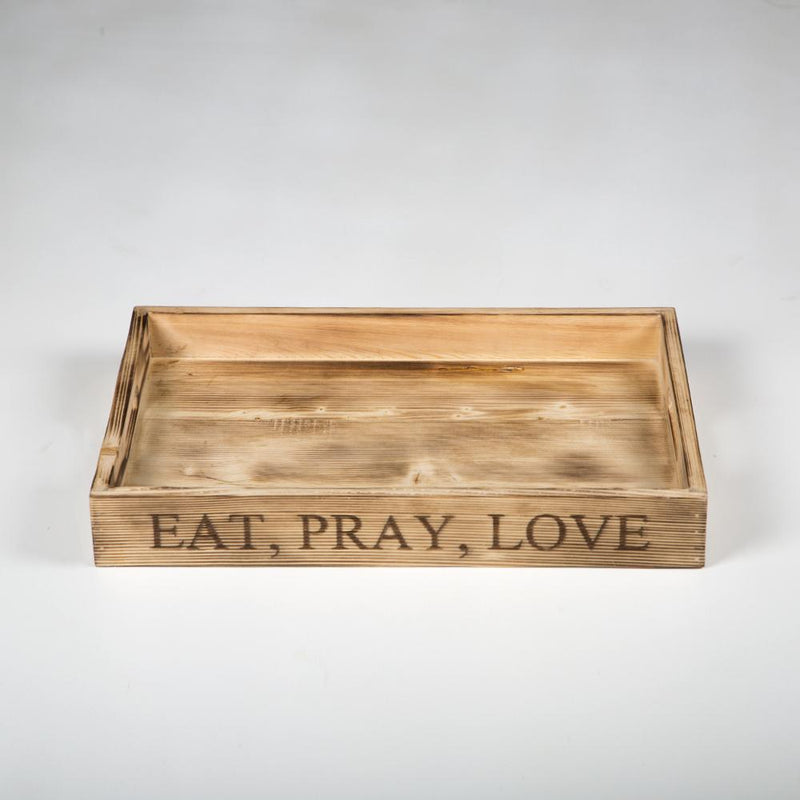 Eat, Pray, Love Tray
