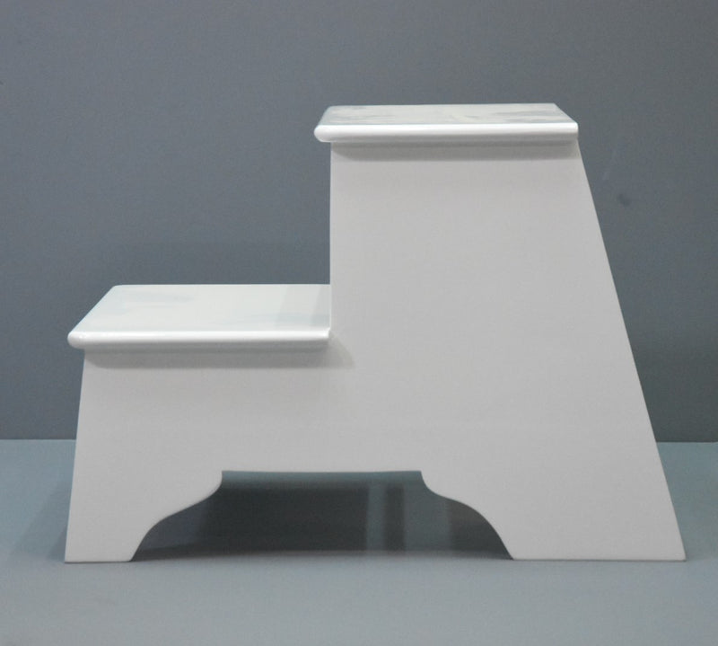 Classic Step Stool White