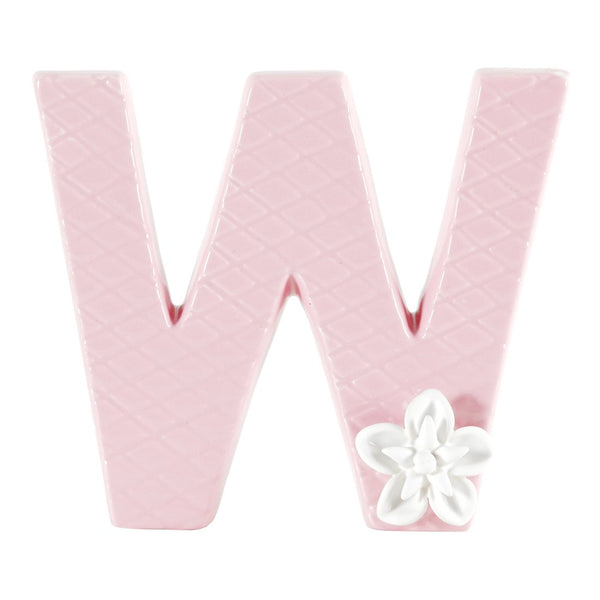 Blossom Letter W