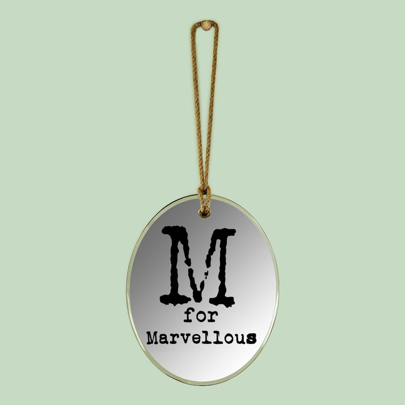 M for magnificent