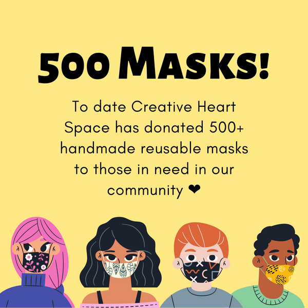500 Masks Donated