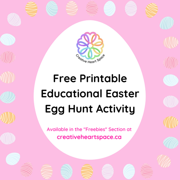 Printable Educational  Easter Egg Hunt