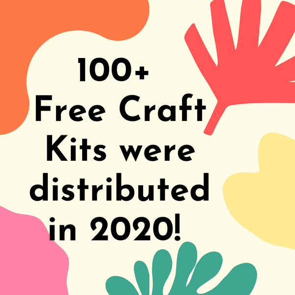 100 Free Craft Kits Delivered!
