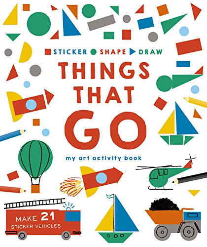 THINGS THAT GO: MY ART ACTIVITY BOOK