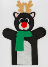 Load image into Gallery viewer, Festive Felt Hand Puppets