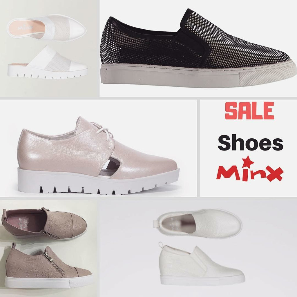 MINX Shoes on SALE