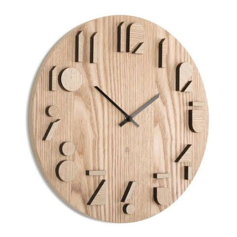Umbra Wooden Shadow Clock