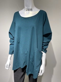 GLAM Cotton Pocket Top (S, M, L, XL) #2205