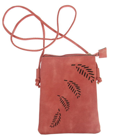Fern Cutout Travel Bag $20