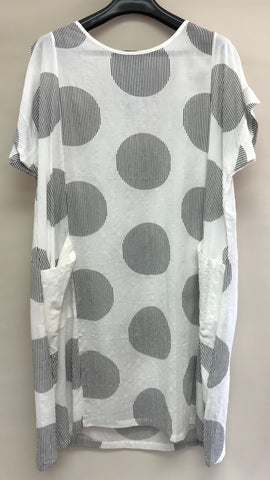 GLAM Cotton Spot Tunic (S, M, L)