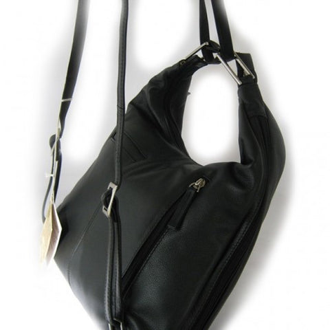 Baron Leather Backpack Handbag