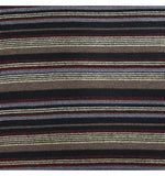 Sabatini Gold Stripe Knit Cushion