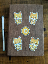 Load image into Gallery viewer, Dogecoin Kawaii Sticker Pack