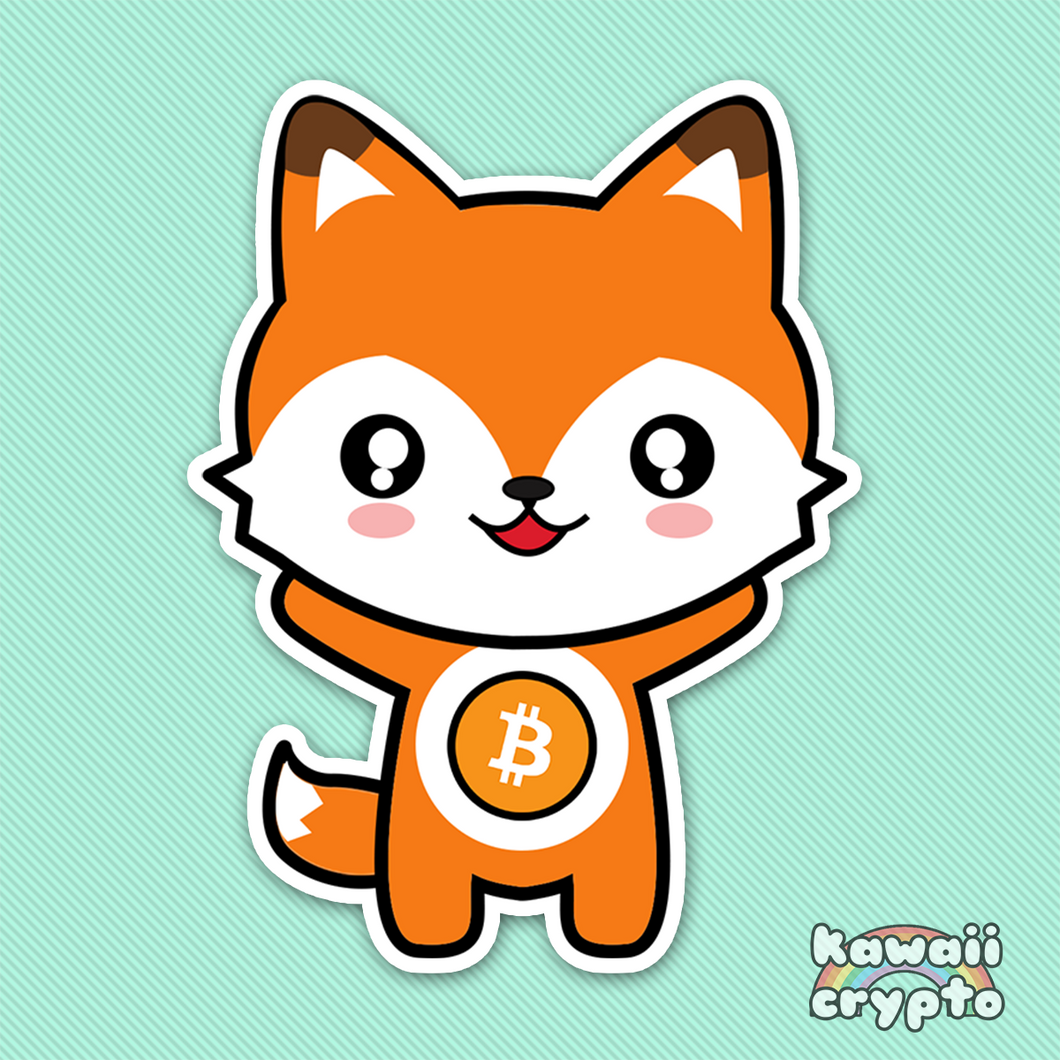 Bitcoin Fox 5 Sticker Pack