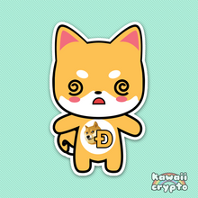 Load image into Gallery viewer, Dogecoin Doge 5 Sticker Pack
