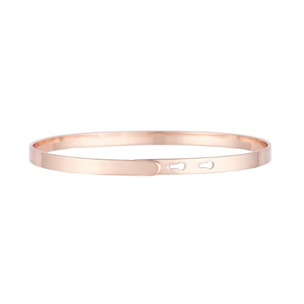 Do what you love, love what you do - Rosé Gold Bracelet