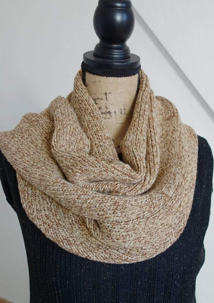 The infinity Scarf. 100% Superfine Merino Wool