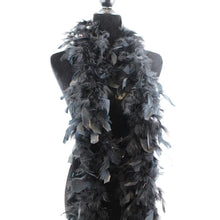 Load image into Gallery viewer, black feather boa
