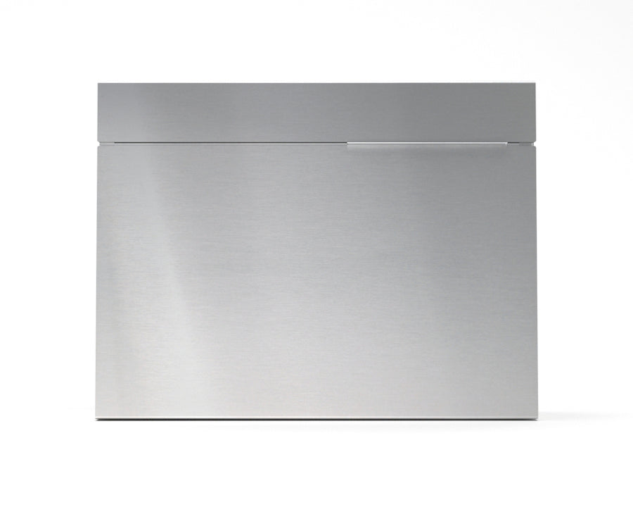 mitch modern mailbox vsons design#color_stainless-steel