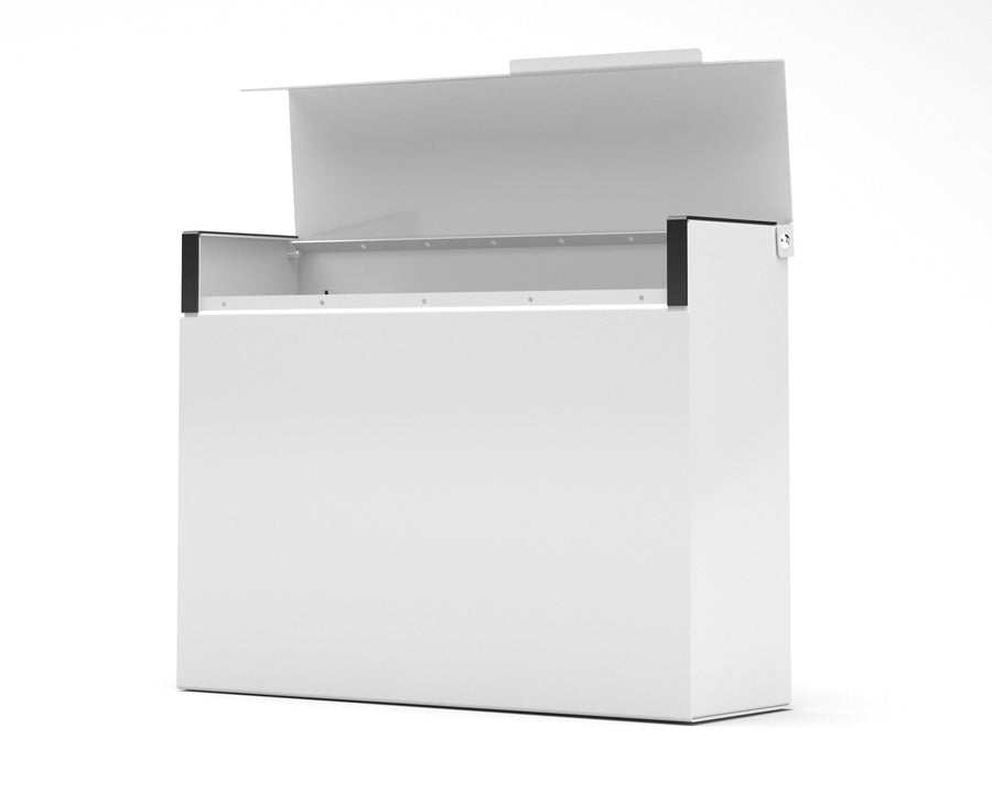 mitch modern mailbox vsons design#color_white