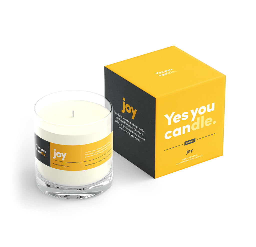 Joy Yes You Candle