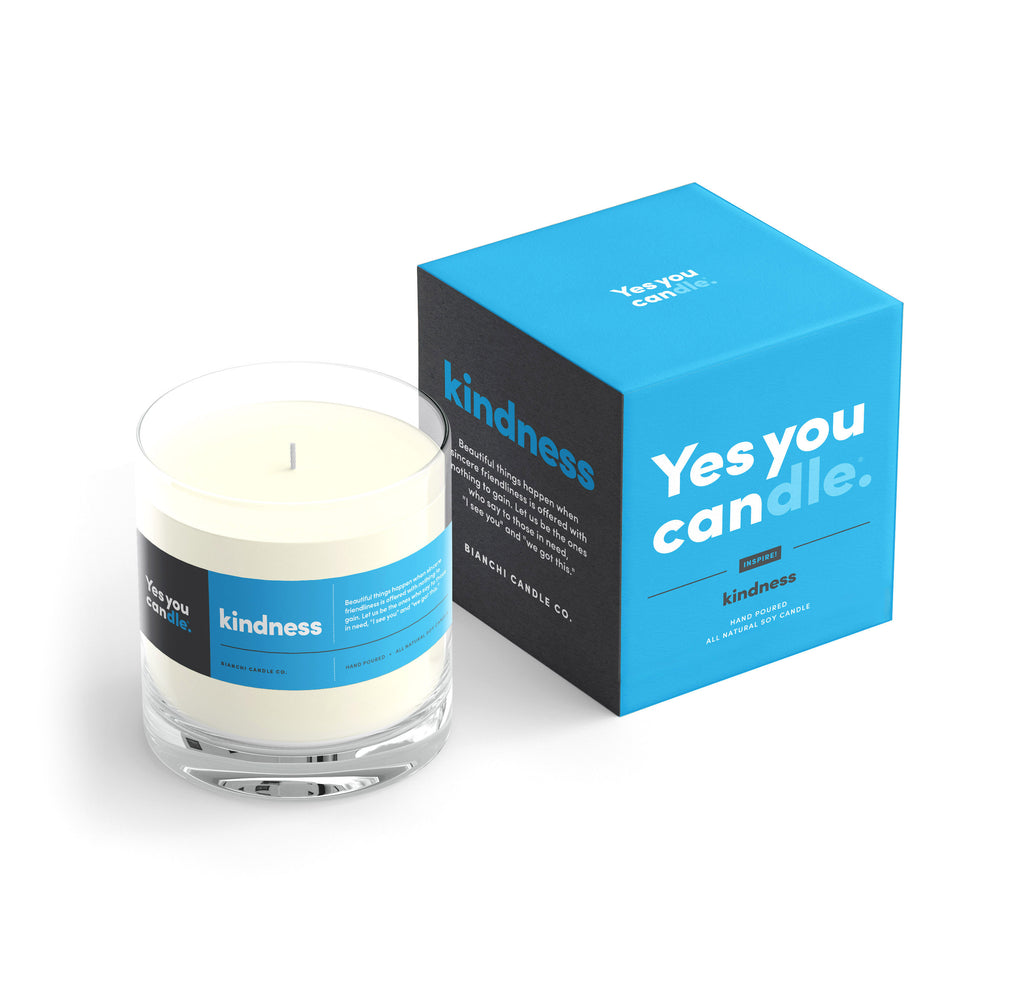 Kindness Yes You Candle