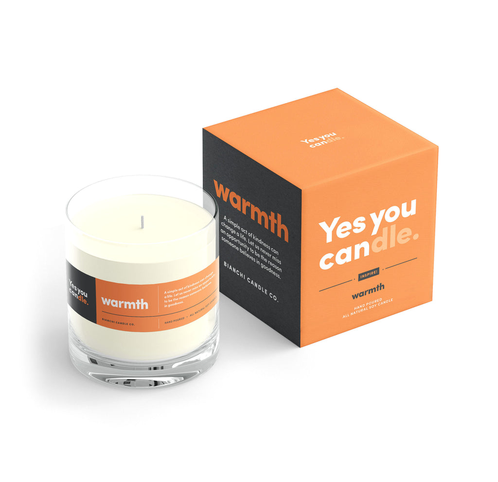 Warmth Yes You Candle