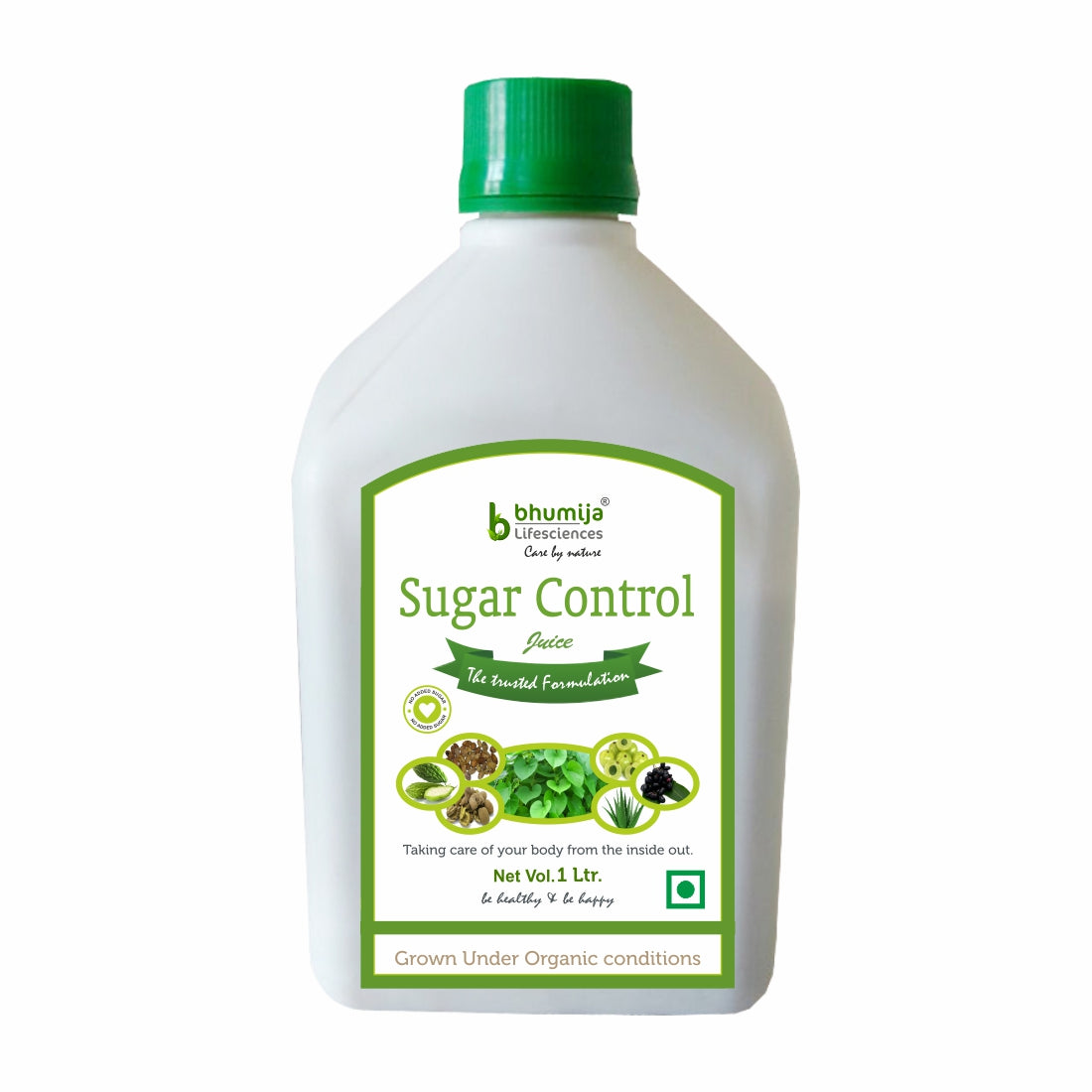 Bhumija Lifesciences Sugar Control Juice Natural Juice No added Sugar 1 Ltr