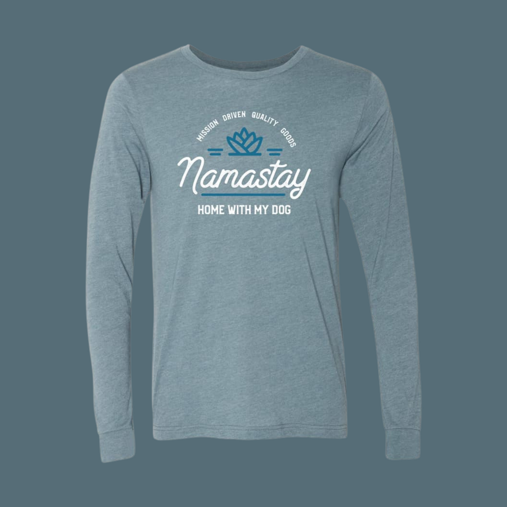 Namastay Home with My Dog Long-Sleeve