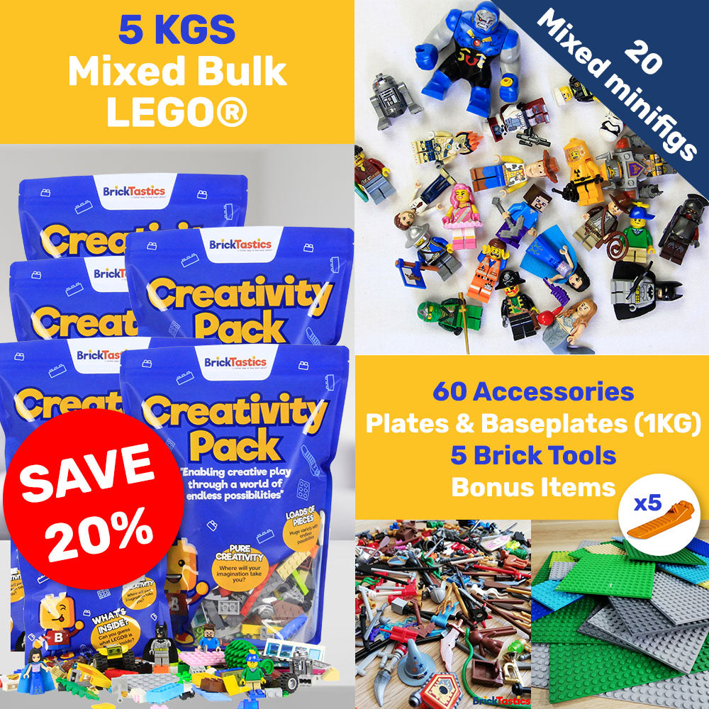 School & Group LEGO Educational Supplies Bulk Packs