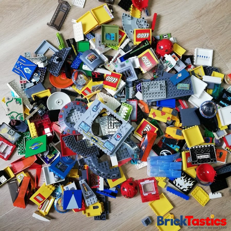 Printed & Sticker Part Pack – High Quality Used LEGO