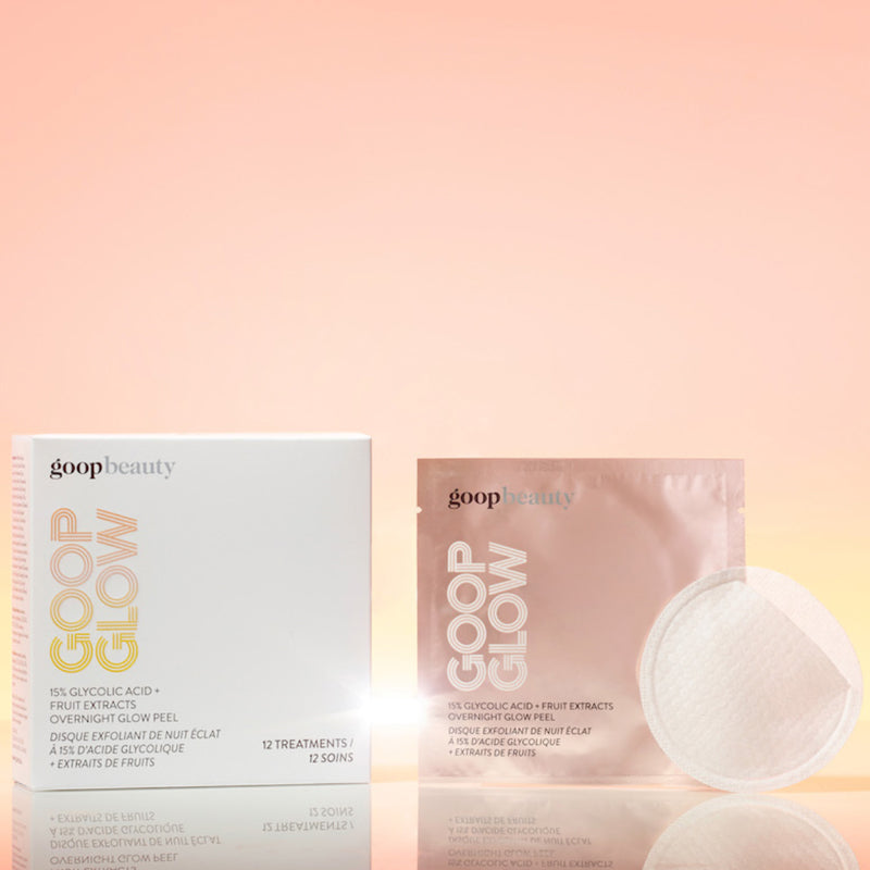 GOOPGLOW Glycolic Acid Overnight Glow Peel