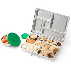 PlanetBox ROVER Eco-Friendly Stainless Steel Bento Lunch Box