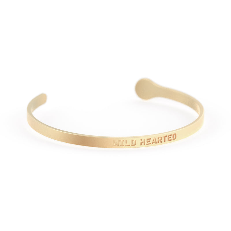 Wild Hearted Mantra Cuff