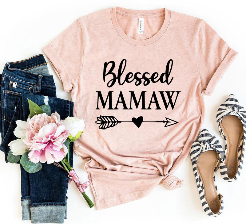 Blessed Mamaw Tee