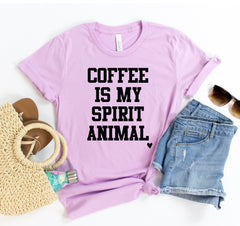 Coffee Is My Spirit Animal Tee