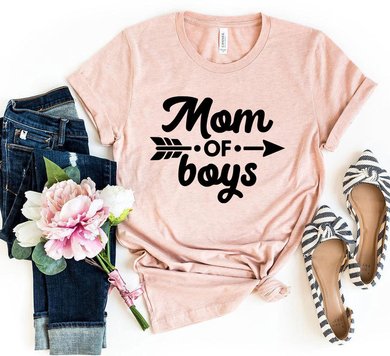 Mom Of Boys Tee