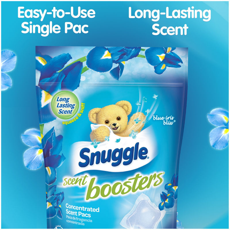 Snuggle Scent Booster Pacs, Blue Iris Bliss, 56 Count