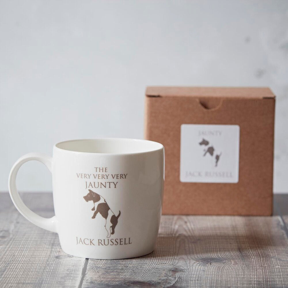 Jack Russell Terrier Fine Bone China Mug