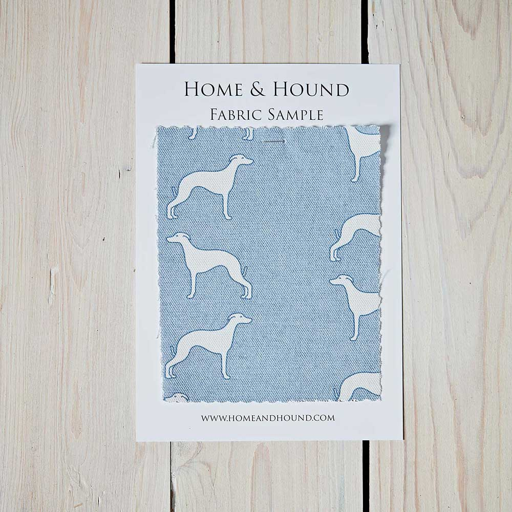 Whippet Blue Fabric Sample