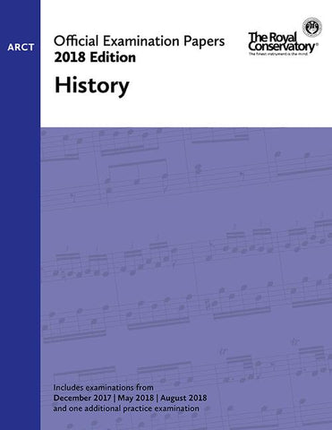 RCM - 2018 Examination Papers: ARCT History