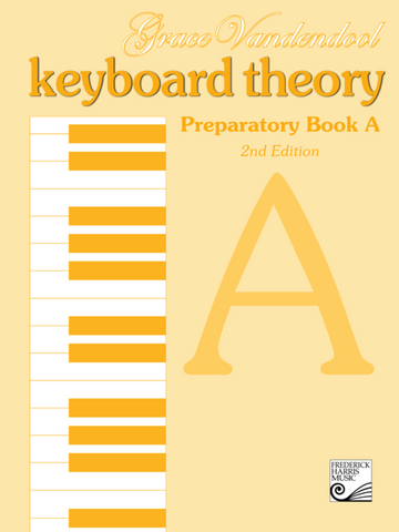 RCM - Keyboard Theory Preparatory Series 2nd Edition: Book A