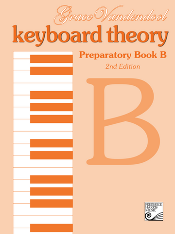 RCM - Keyboard Theory Preparatory Series 2nd Edition: Book B