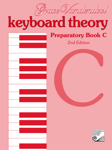 RCM - Keyboard Theory Preparatory Series 2nd Edition: Book C