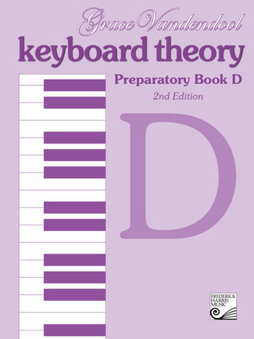 RCM - Keyboard Theory Preparatory Series 2nd Edition: Book D