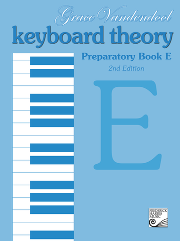 RCM - Keyboard Theory Preparatory Series 2nd Edition: Book E