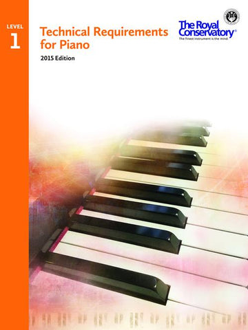 RCM - Piano Technical Requirements Level 1