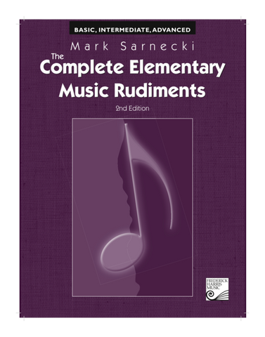 RCM - Mark Sarnecki Complete Elementary Music Rudiments, 2nd Edition